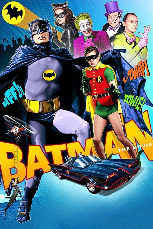 Batman (1966 film) movie poster
