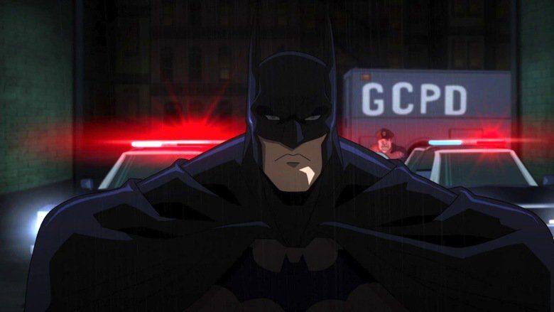 Batman: Assault on Arkham movie scenes