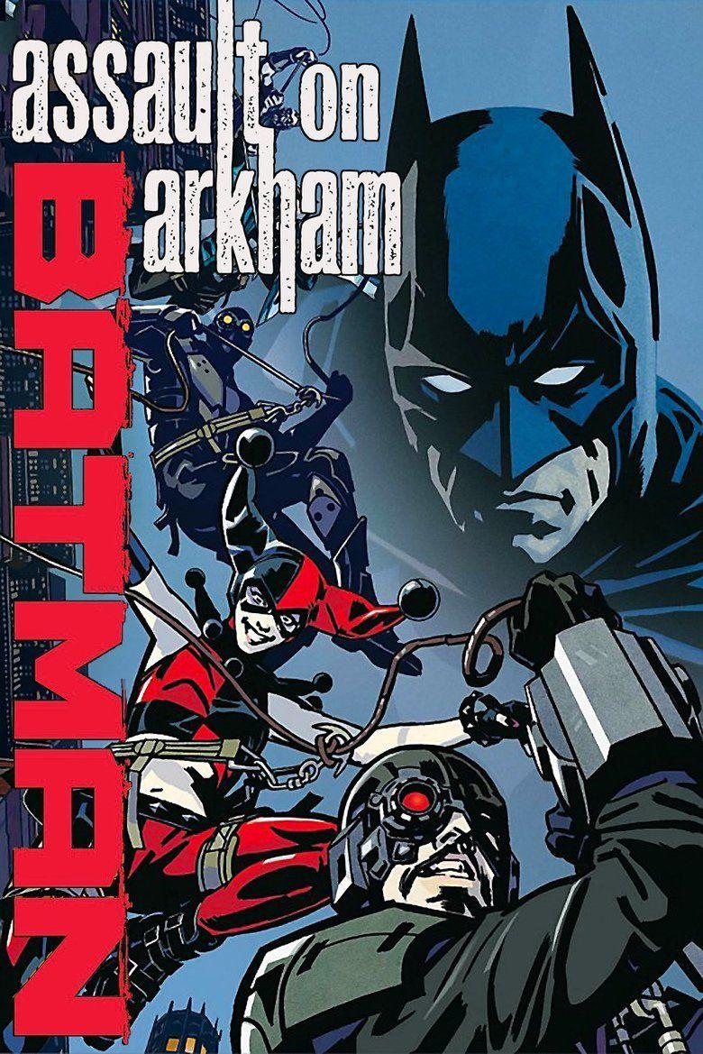 Batman: Assault on Arkham movie poster