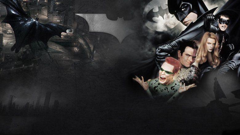 Batman Forever movie scenes