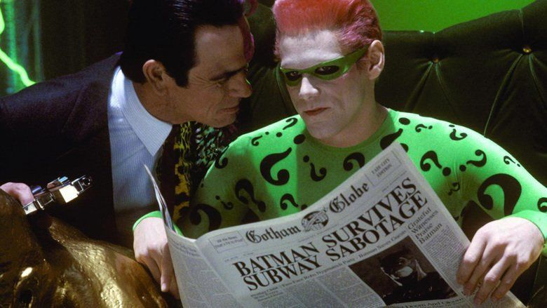 Batman Forever movie scenes