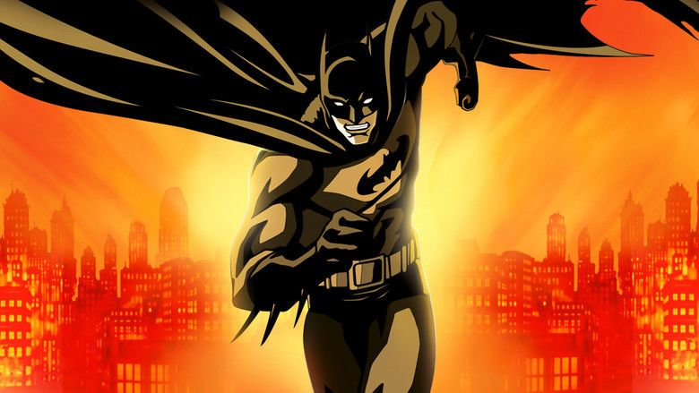 Batman: Gotham Knight movie scenes