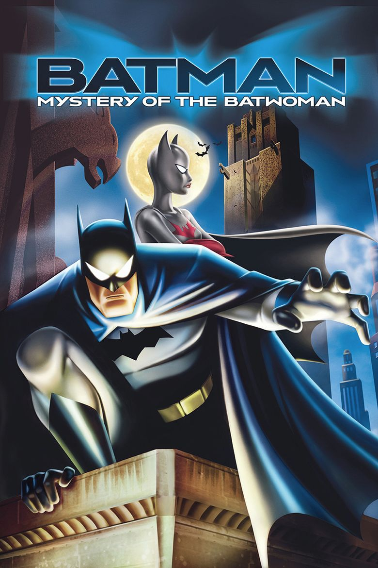 Batman: Mystery of the Batwoman movie poster