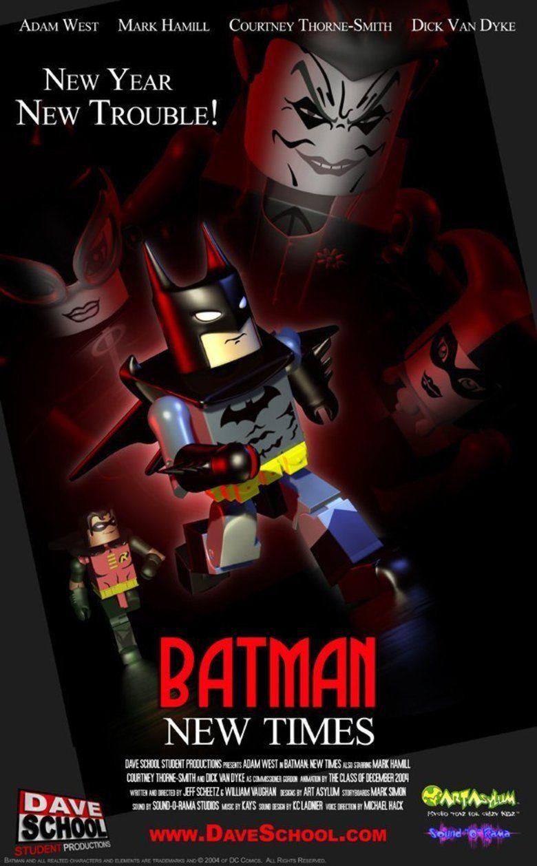 Batman: New Times movie poster