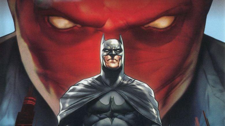 Batman: Under the Red Hood movie scenes
