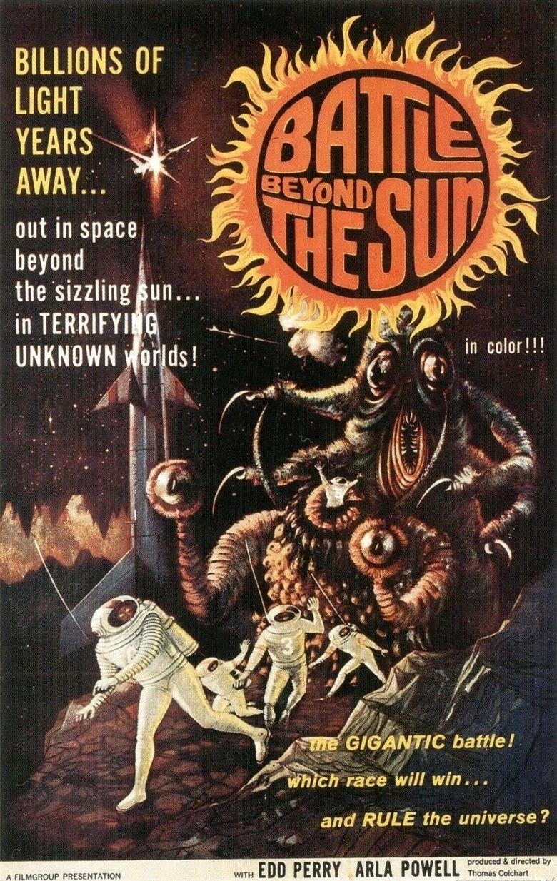 Battle Beyond the Sun movie poster