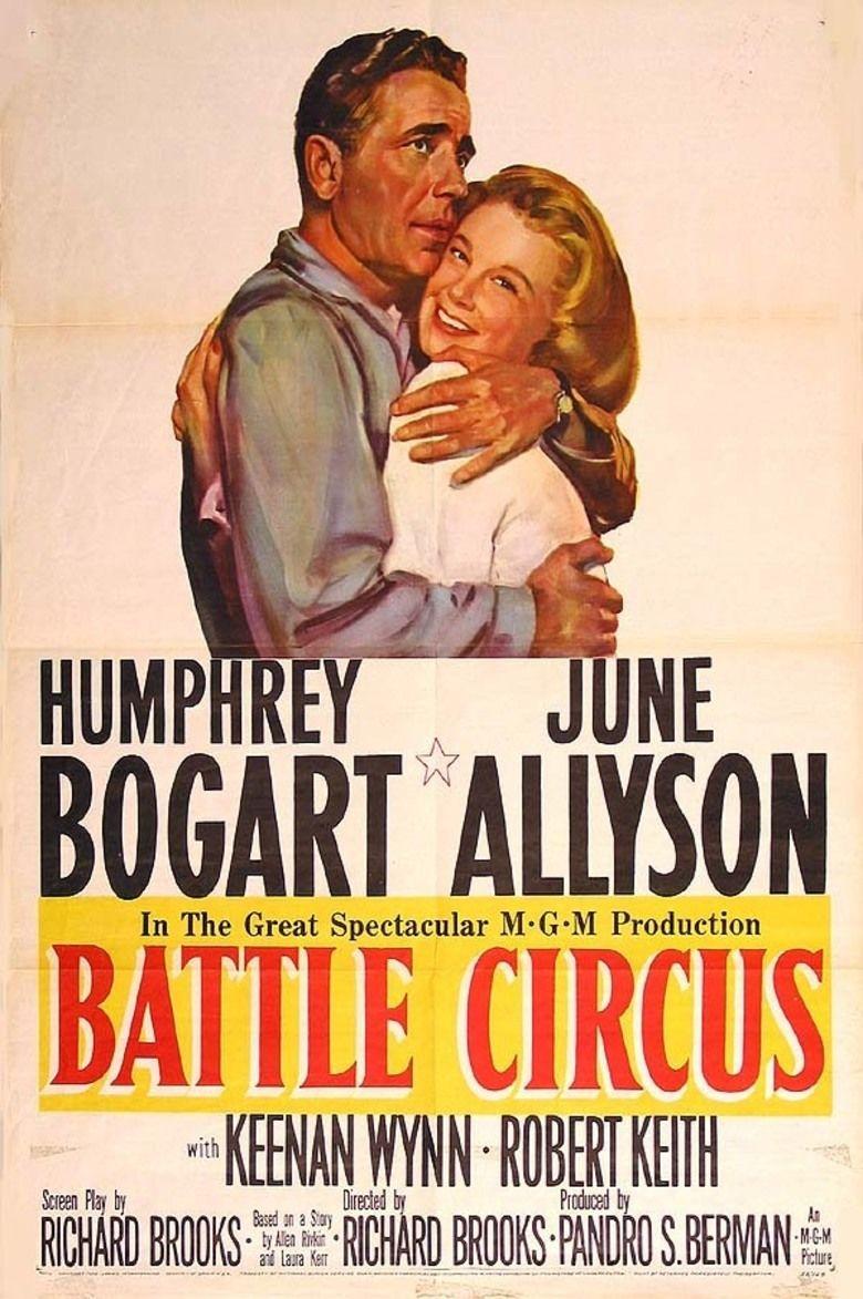 Battle Circus (film) movie poster