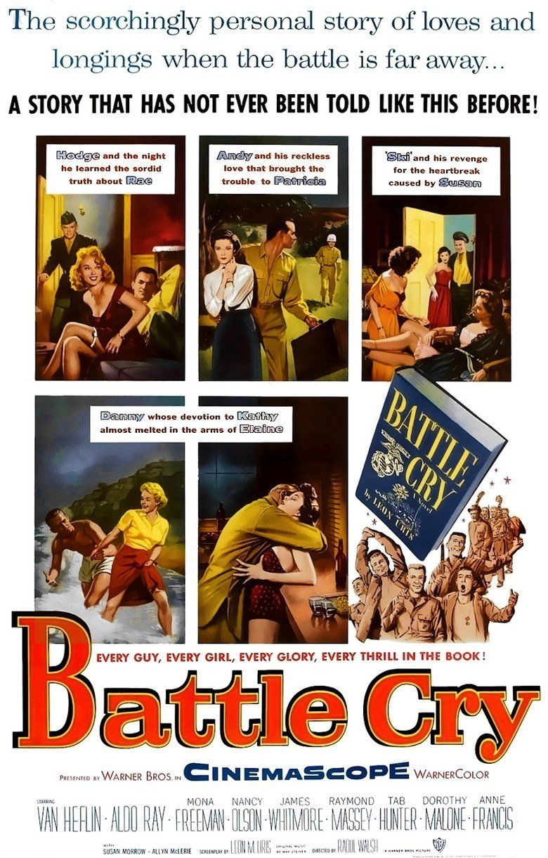 Battle Cry (film) movie poster