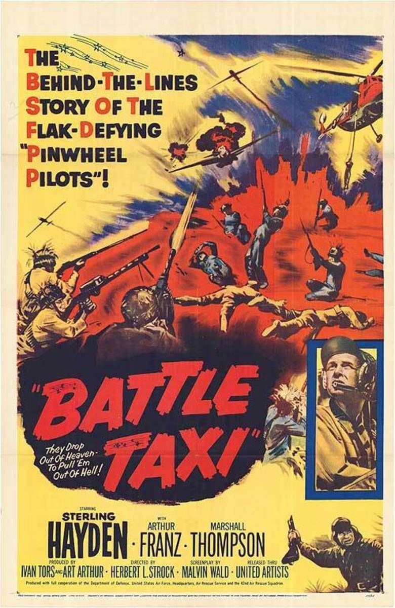 Battle Taxi movie poster