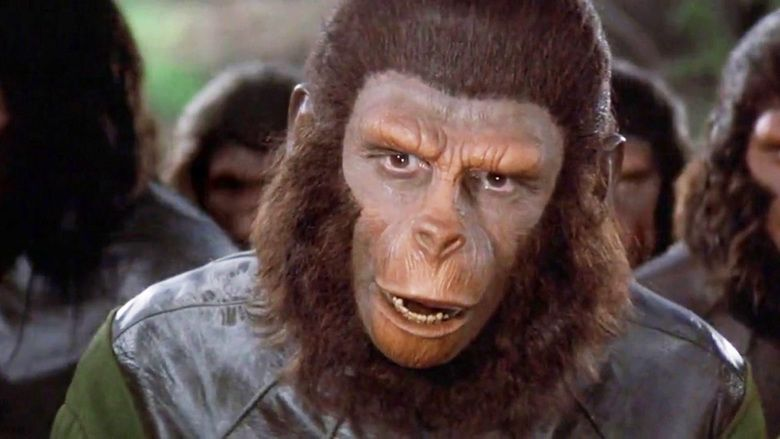 Battle for the Planet of the Apes movie scenes
