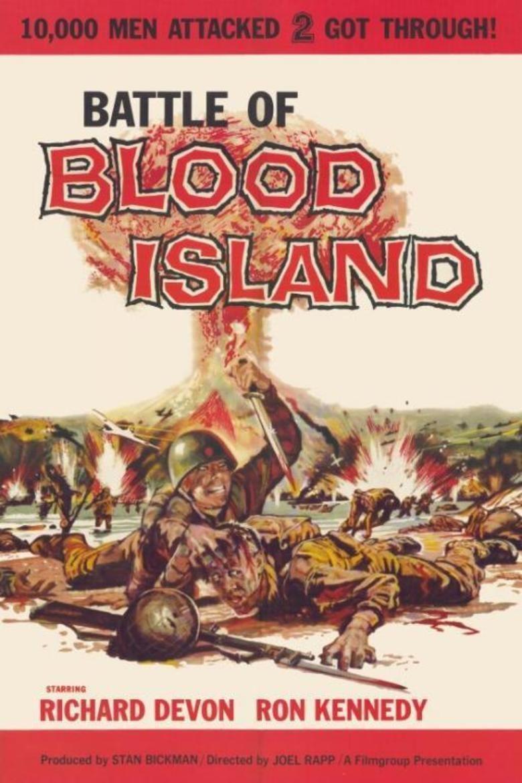 Battle of Blood Island movie poster