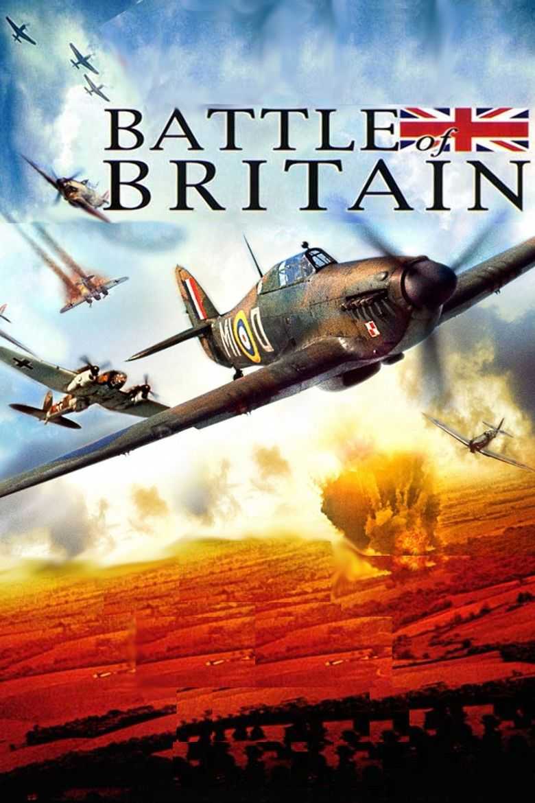 Battle of Britain (film) movie poster