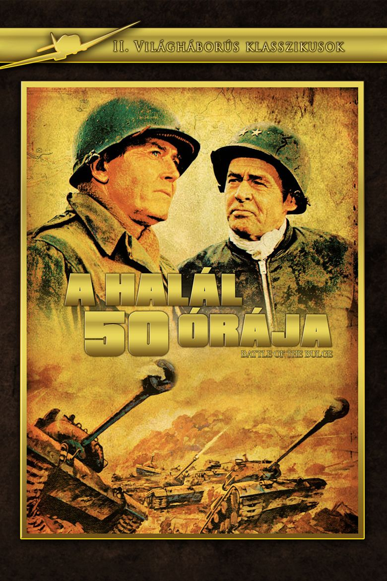 Battle of the Bulge (film) movie poster