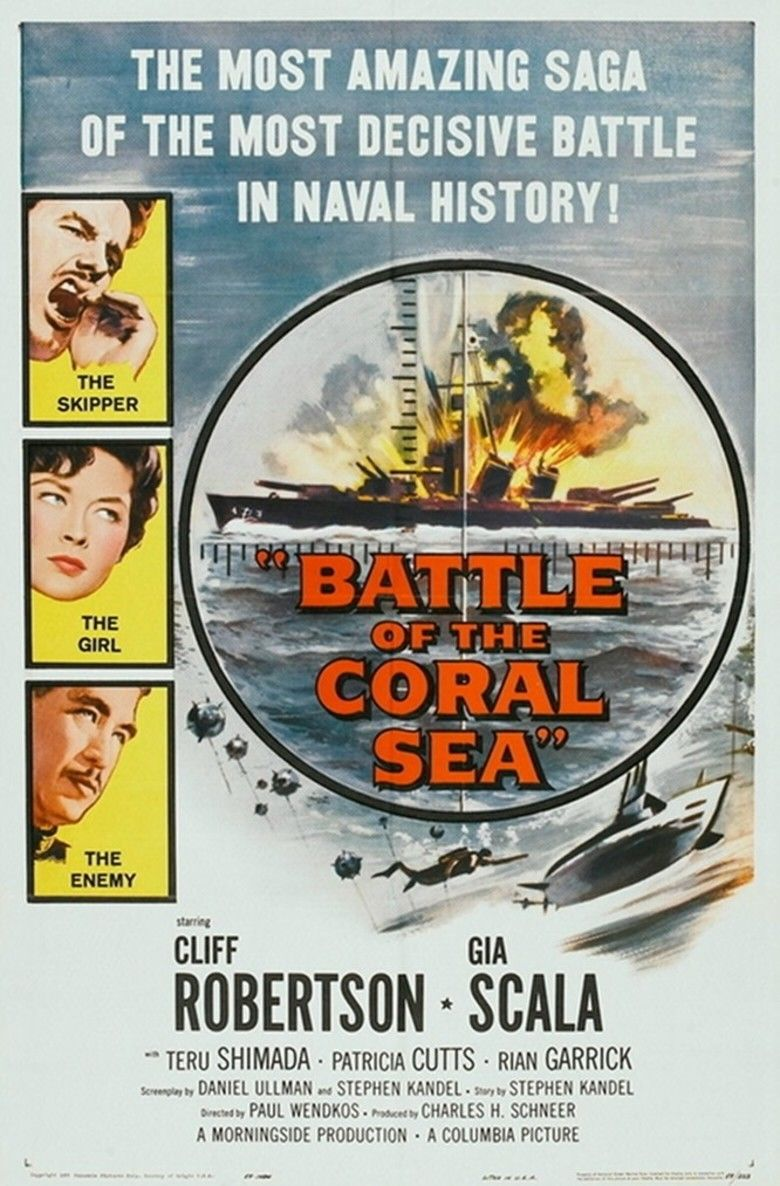 Battle of the Coral Sea (film) movie poster