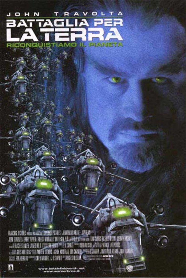 Battlefield Earth (film) movie poster