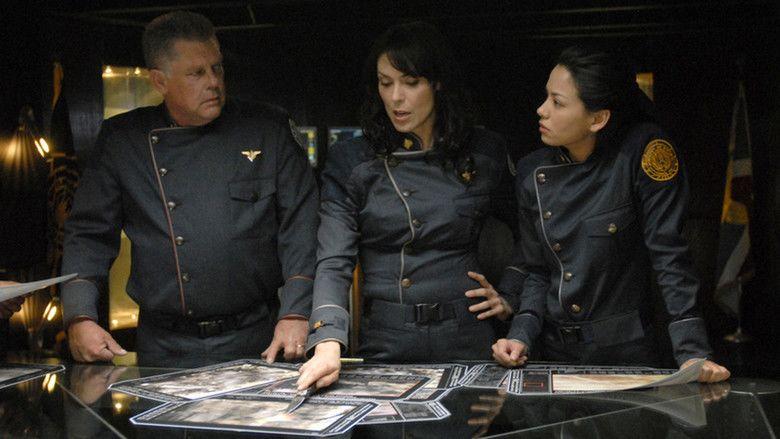 Battlestar Galactica: The Plan movie scenes