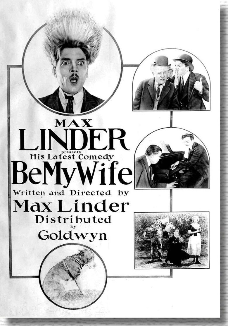 Be My Wife (1921 film) movie poster