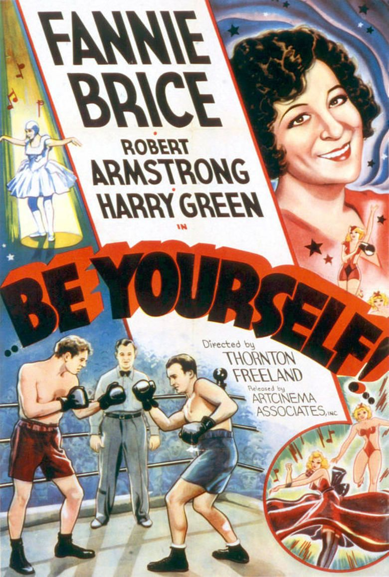 Be Yourself (film) movie poster