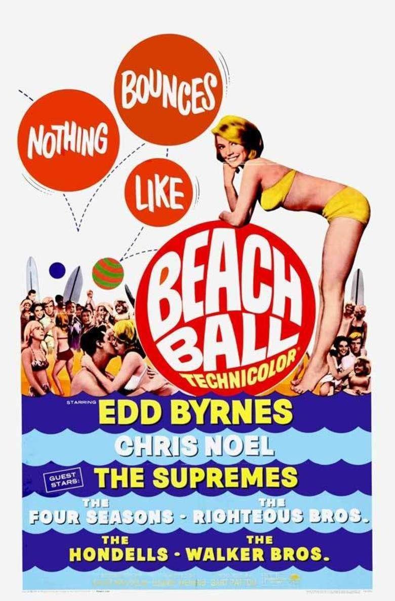 Beach Ball movie poster