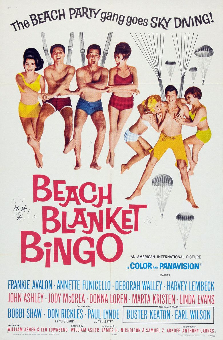 Beach Blanket Bingo movie poster