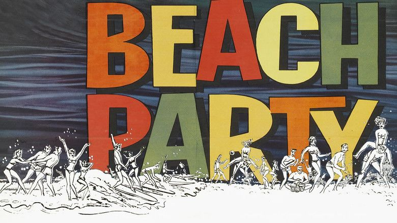 Beach Party movie scenes