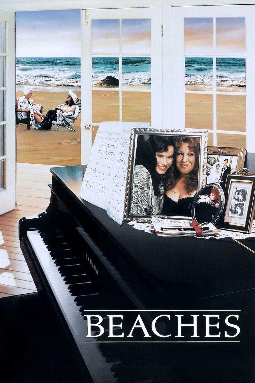 Beaches (film) movie poster