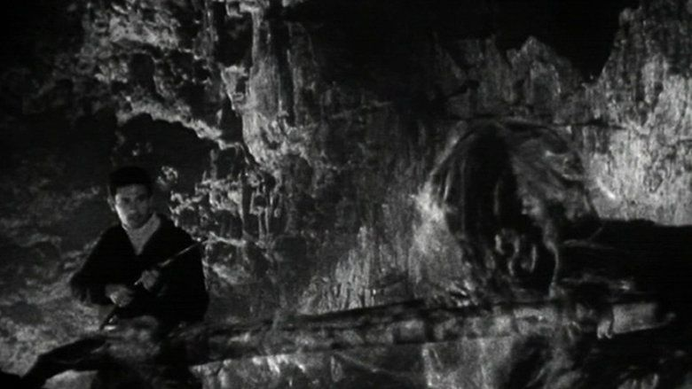 Beast from Haunted Cave movie scenes