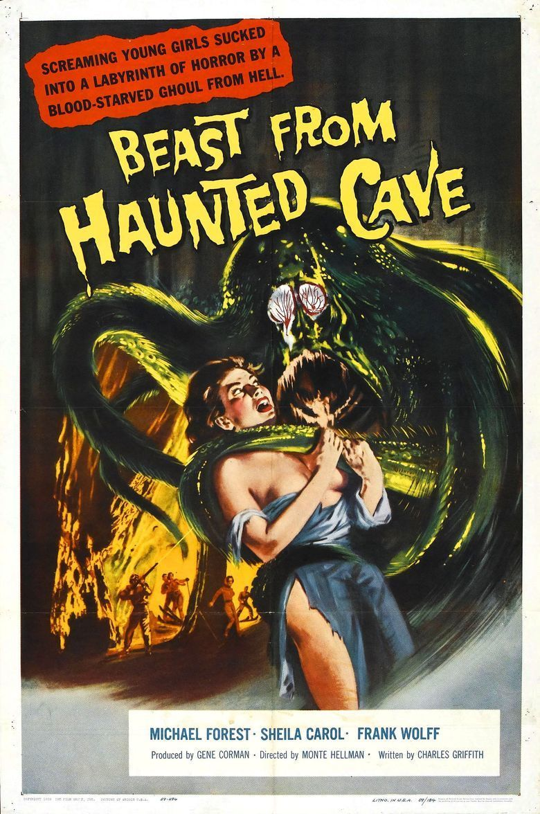 Beast from Haunted Cave movie poster