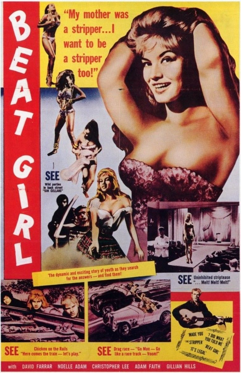 Beat Girl movie poster