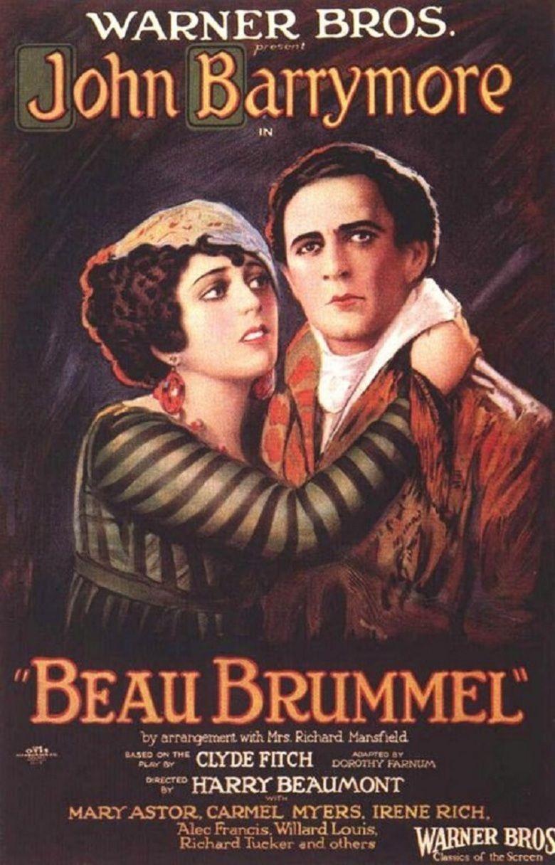 Beau Brummel (1924 film) movie poster