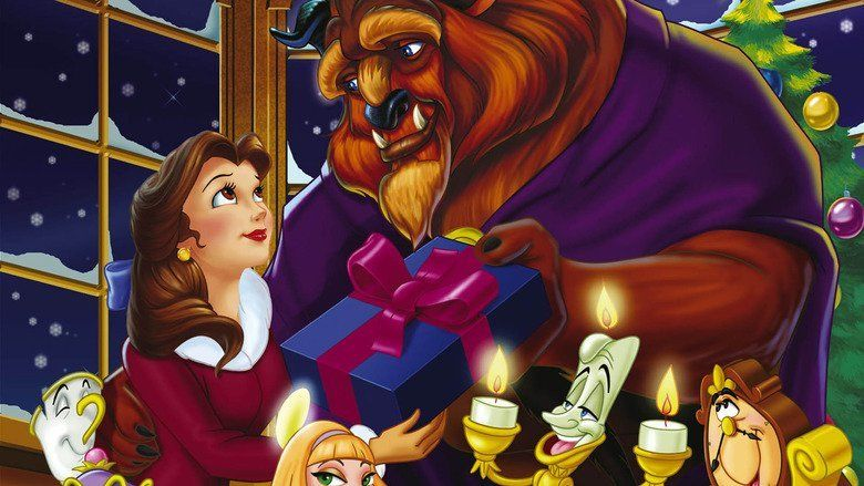 Beauty and the Beast: The Enchanted Christmas movie scenes