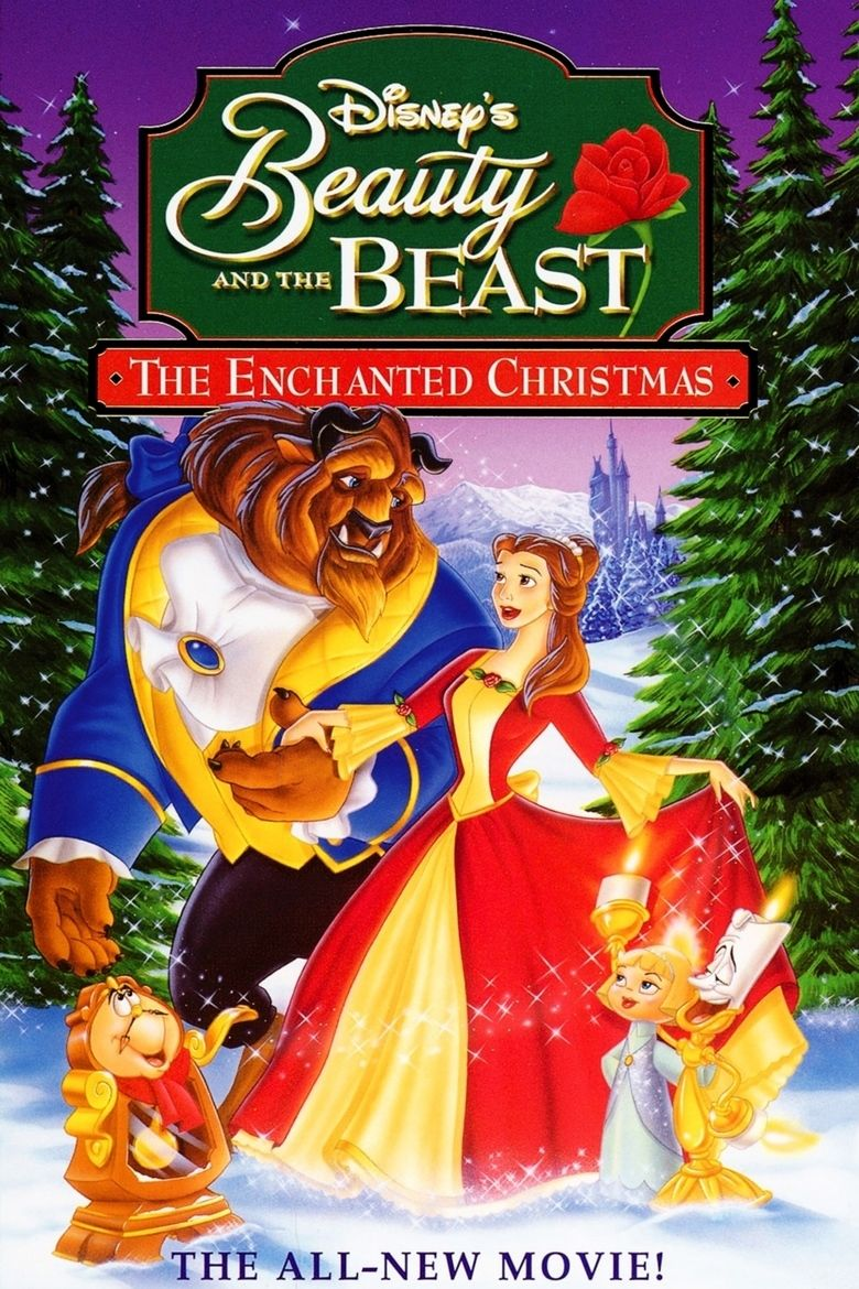 Beauty and the Beast: The Enchanted Christmas movie poster