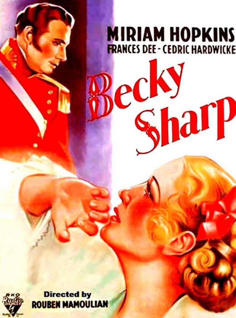 Becky Sharp movie poster