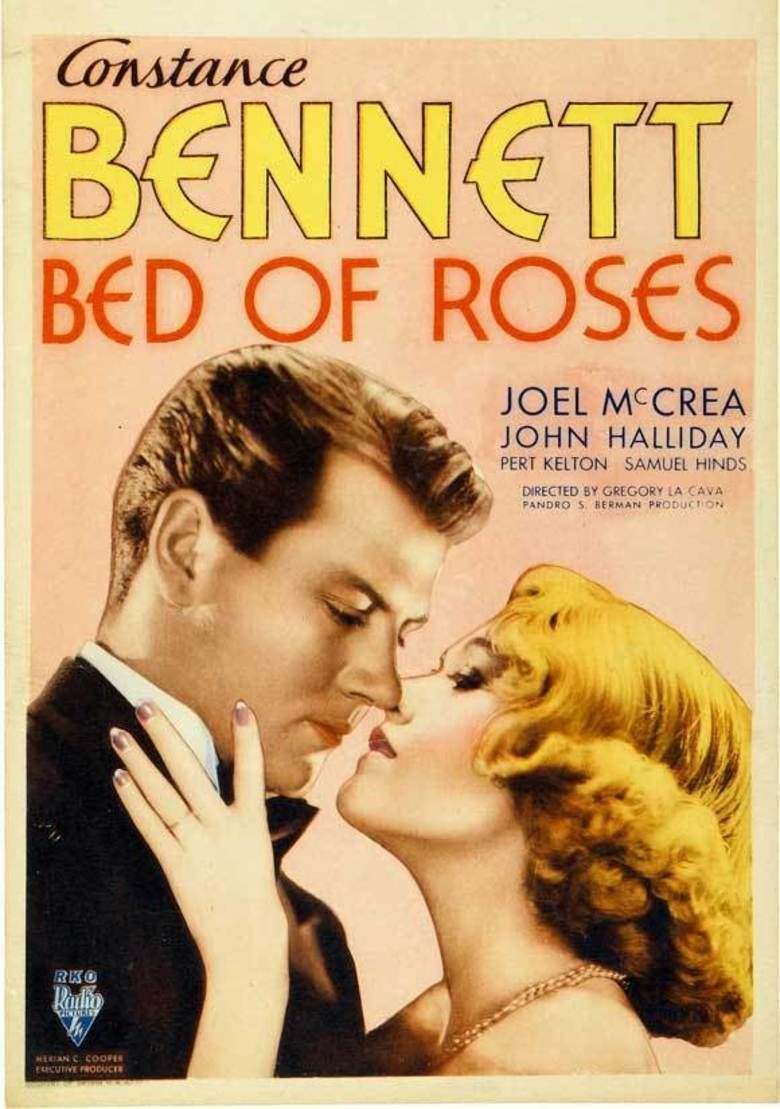 Bed of Roses (1933 film) movie poster