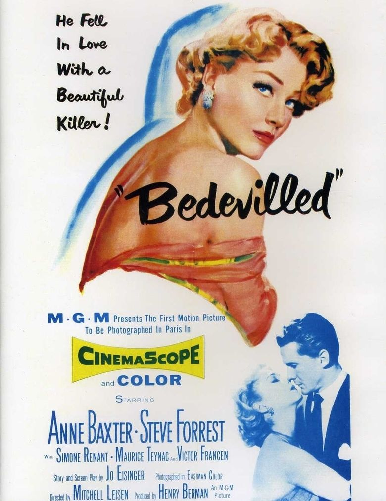 Bedevilled (1955 film) movie poster