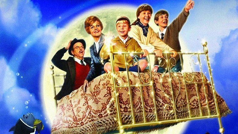 Bedknobs and Broomsticks movie scenes
