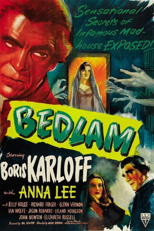 Bedlam (film) movie poster
