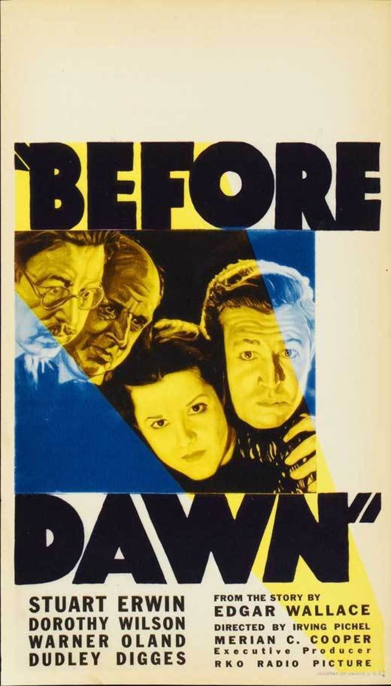 Before Dawn (film) movie poster