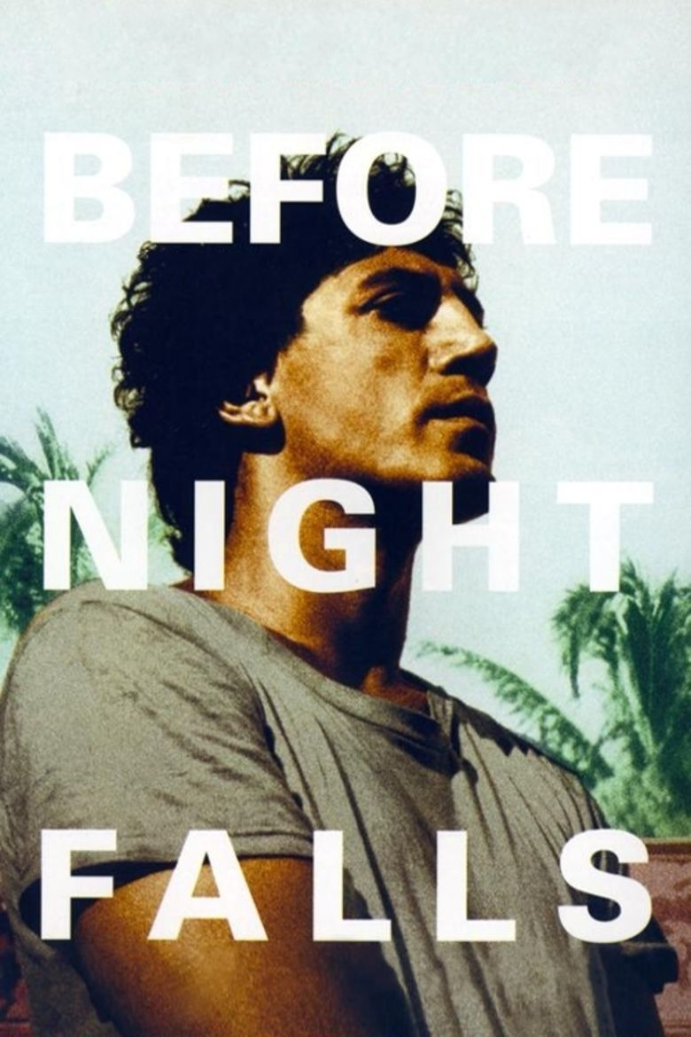 Before Night Falls (film) movie poster