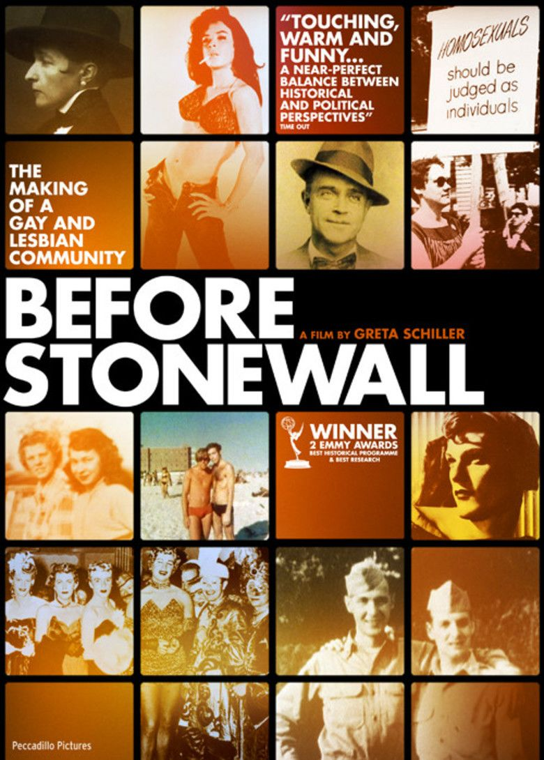 Before Stonewall movie poster