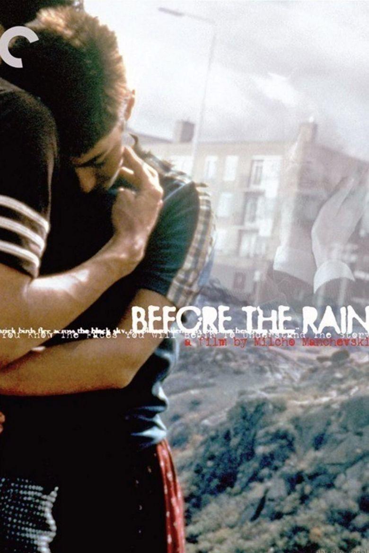 Before the Rain (1994 film) movie poster