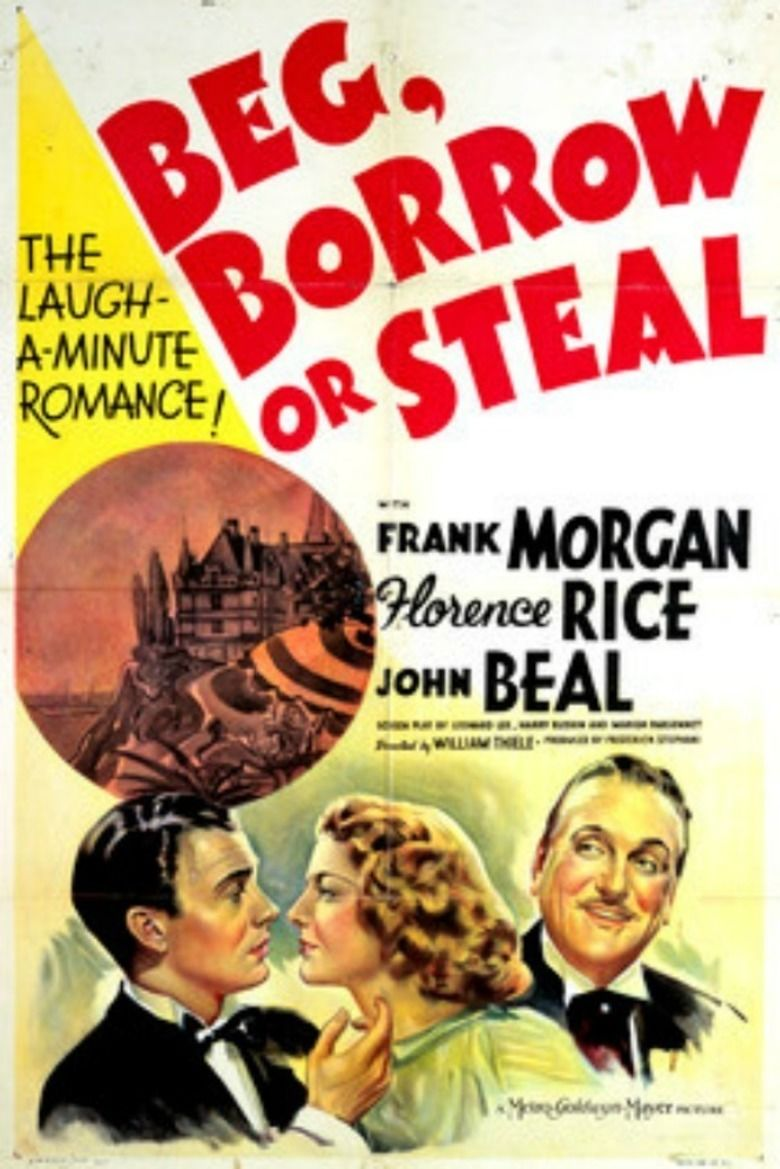 Beg, Borrow or Steal movie poster