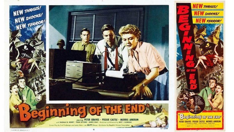 Beginning of the End (film) movie scenes
