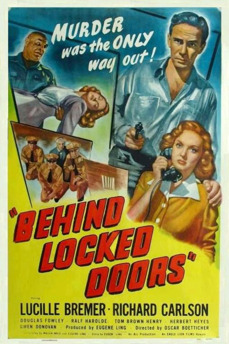 Behind Locked Doors movie poster