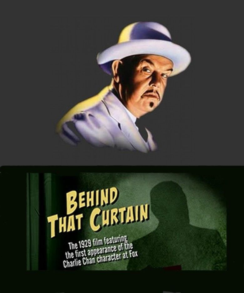 Behind That Curtain (film) movie poster