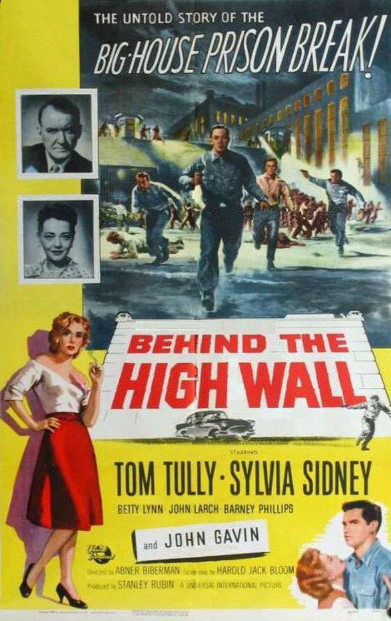 Behind the High Wall movie poster