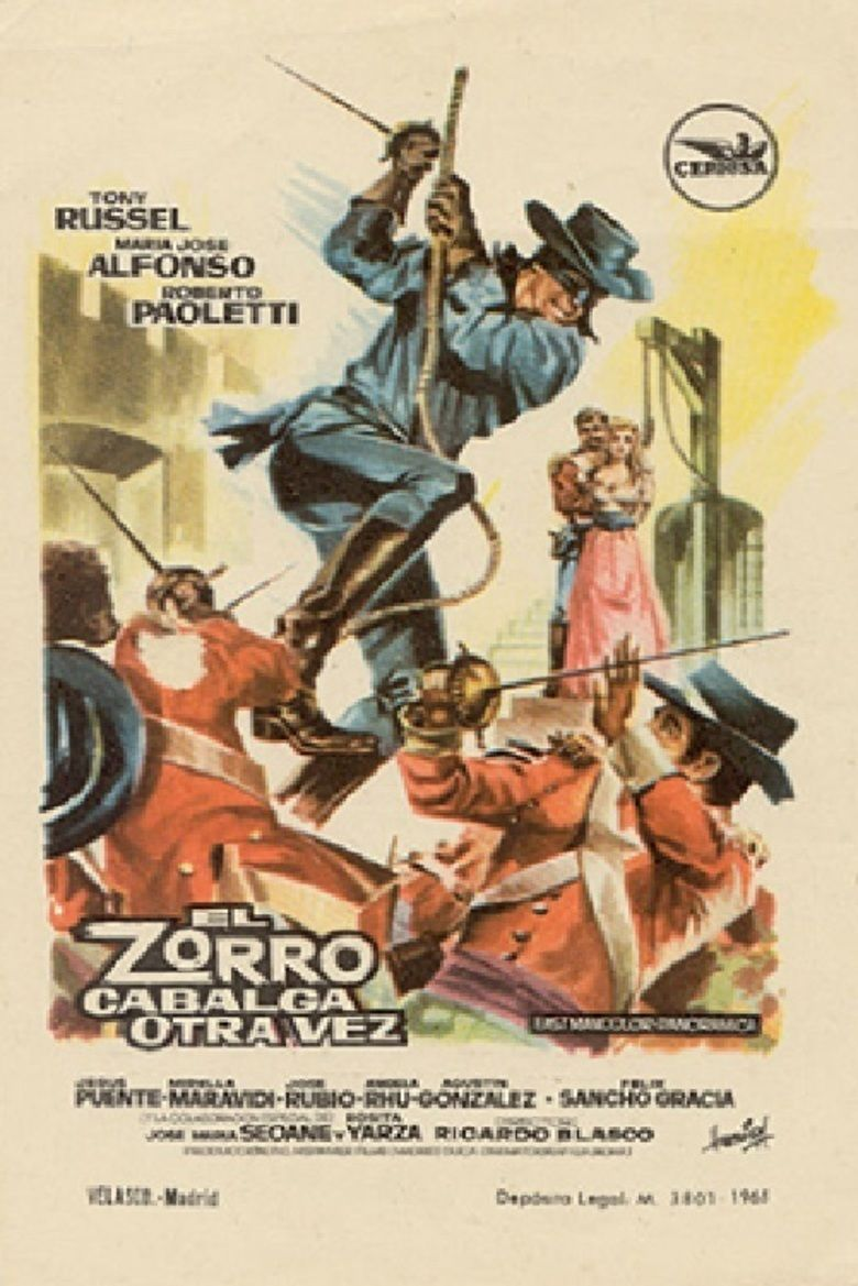 Behind the Mask of Zorro movie poster