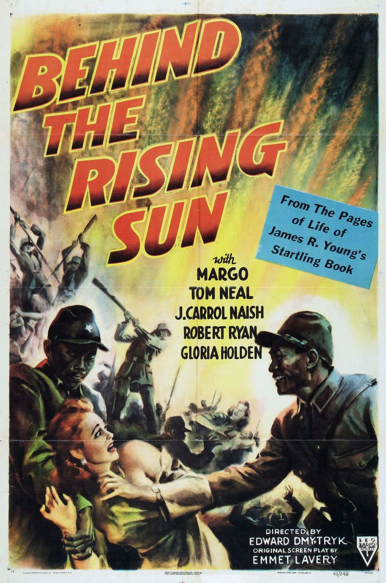 Behind the Rising Sun (film) movie poster