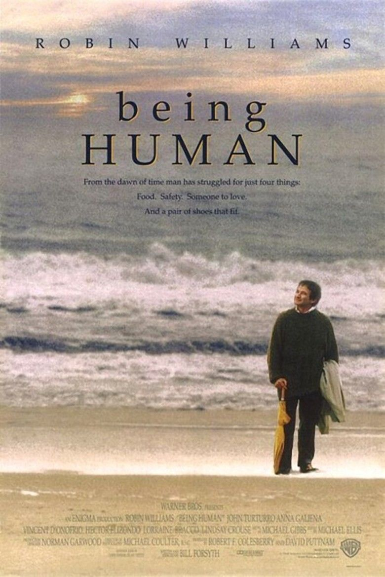 Being Human (1994 film) movie poster