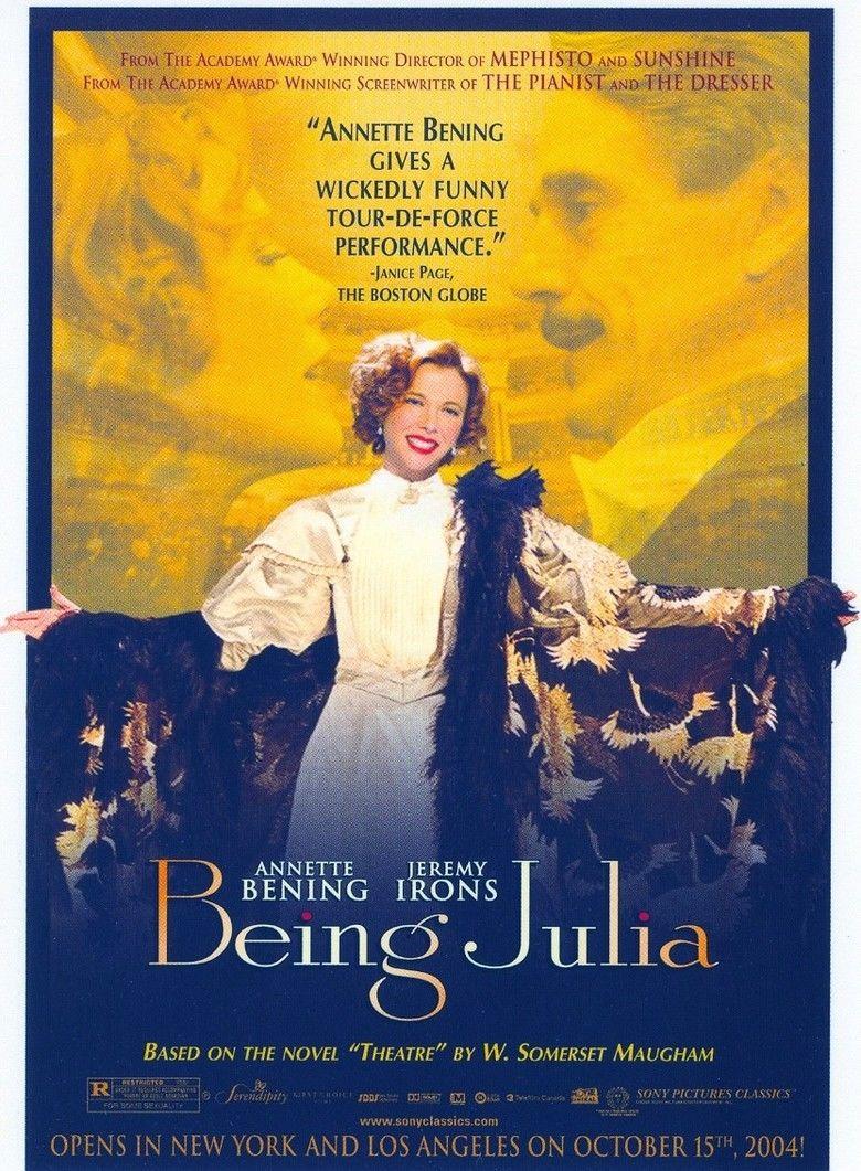 Being Julia movie poster